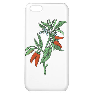 Chili Peppers Cover For iPhone 5C