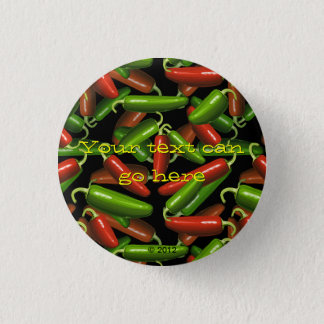 Chili Peppers Pinback Button