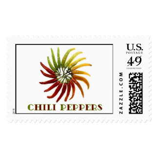 Chili Peppers Postage