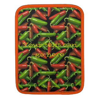 Chili Peppers Sleeve For iPads