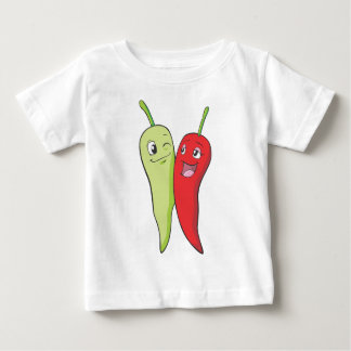 Chili Peppers T Shirt | Red Green Chili Peppers T
