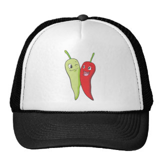 Chili Peppers T Shirt | Red Green Chili Peppers T Trucker Hat