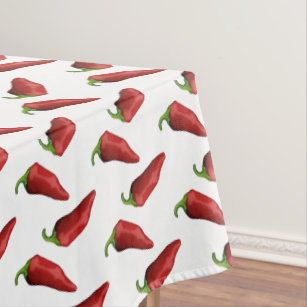Chili Peppers Tablecloth