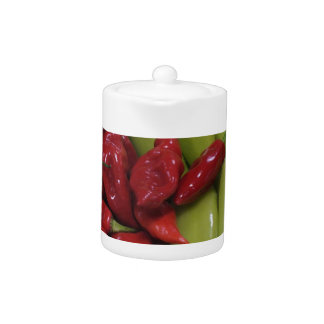 Chili Peppers Tea Pot