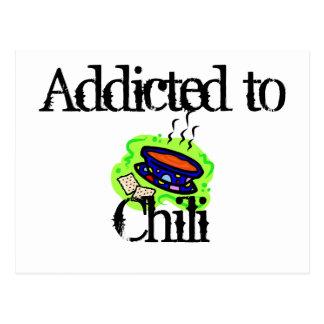 Chili Postcard