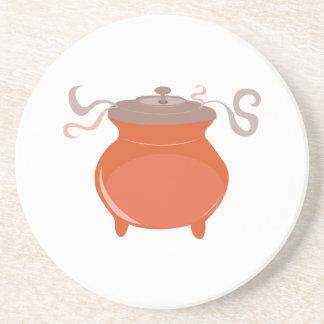 Chili Pot Beverage Coaster