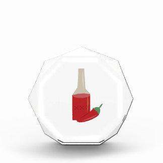 Chili Sauce Acrylic Award