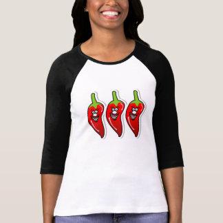 Chili Smile *3/4 Sleeve T-shirts
