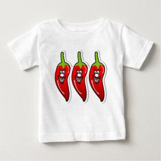 Chili Smile *Baby White Shirt