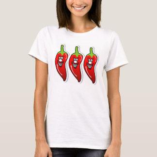 Chili Smile *White Women T-Shirt