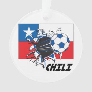 Chili Soccer Team Ornament