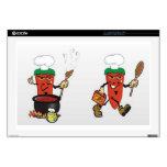 chili-soup-vector decal for laptop