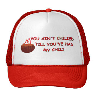 CHILI TIME TRUCKER HAT