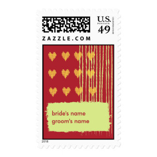 Chili Wedding Stamp