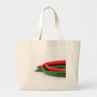 Chilies Large Tote Bag