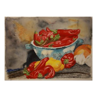 Chilies! print