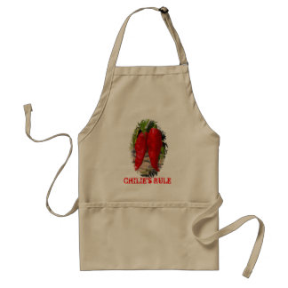 Chilie's Rule Adult Apron