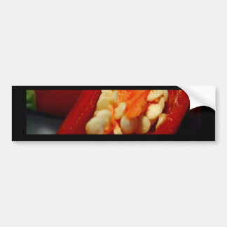chilies-seeds,still-life bumper sticker
