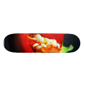 Chilies Seeds Still Life Skate Board