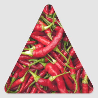 Chilies Triangle Sticker