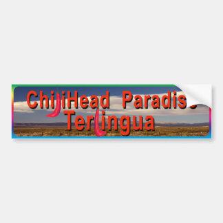Chiliheads Terlingua Etiqueta De Parachoque