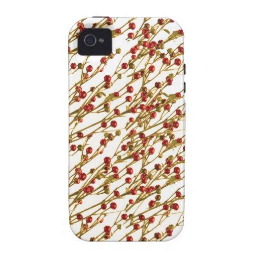 Chilis rojo COLGANTE: Rechace el MAL DE OJO Ethinc iPhone 4/4S Funda