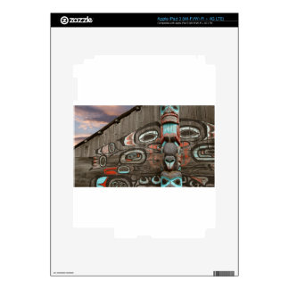 Chilkat Tribal House iPad 3 Decals