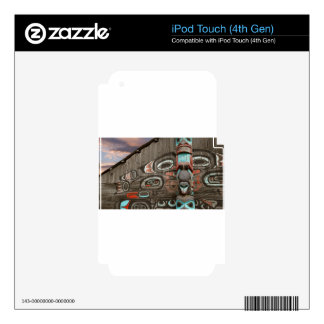 Chilkat Tribal House Skins For iPod Touch 4G