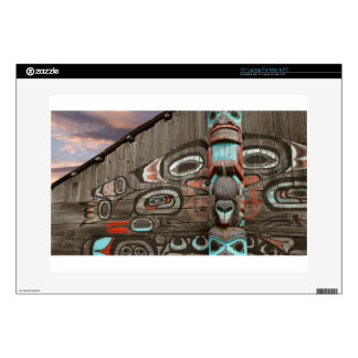 "Chilkat Tribal House 15"" Laptop Skins"