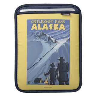 Chilkoot Pass, Alaska Gold Miners Sleeve For iPads