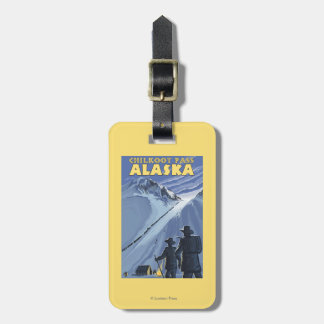 Chilkoot Pass, Alaska Gold Miners Travel Bag Tag