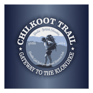 Chilkoot Trail Poster