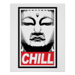 Chill Buddha Poster