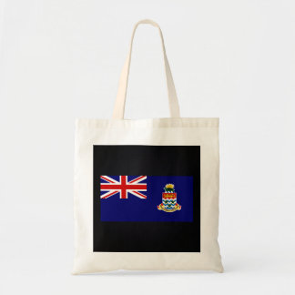 Chill Flag of Cayman Islands Budget Tote Bag
