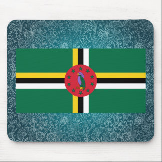 Chill Flag of Dominica Mouse Pad