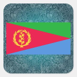 Chill Flag of Eritrea Square Sticker