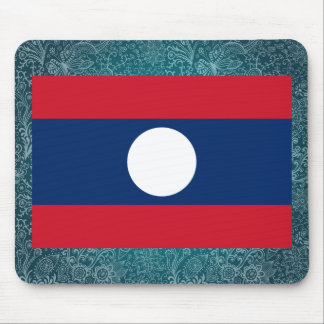 Chill Flag of Laos Mouse Pad