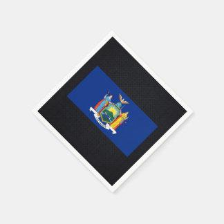 Chill Flag of New York Standard Cocktail Napkin
