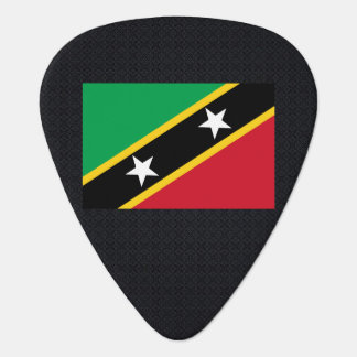 Chill Flag of Saint Kitts and Nevis Guitar Pick
