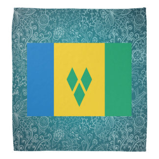 Chill Flag of Saint Vincent and the Grenadines Bandana