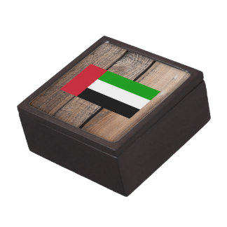 Chill Flag of United Arab Emirates Premium Keepsake Box