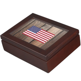 Chill Flag of United States Memory Box