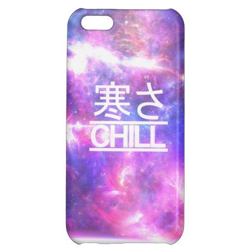 Chill galaxy nebula stars iPhone 5C cases