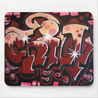 Chill Graffiti Mouse pad
