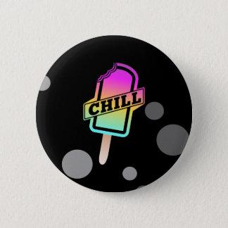 Chill Ice Block Pinback Button