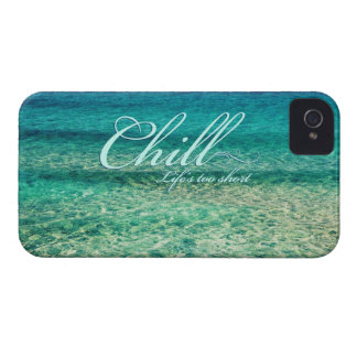 Chill. Life's too short iPhone 4 Cover