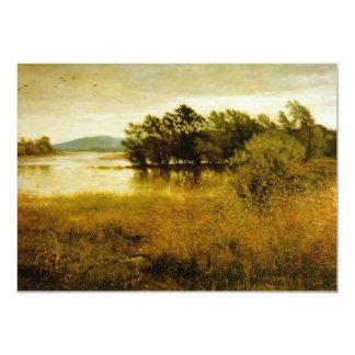 Chill October Landscape 5x7 Paper Invitation Card