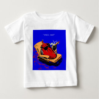 """chill out"" baby T-Shirt"