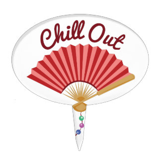 Chill Out Cake Topper