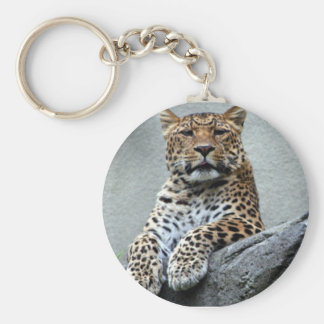 Chill Out Cool Cat Keychain